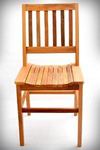 demolição cadeira de de madeira