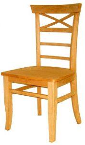 de demolição cadeira de madeira