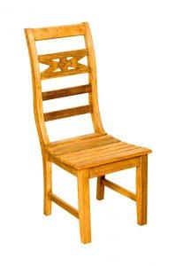 cadeira madeira de demolição de