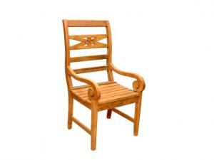 madeira rustica cadeira de
