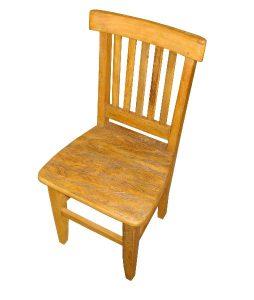 cadeira rustica de madeira