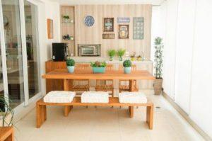 mesa madeira demolição de em