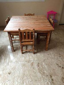 de madeira mesa rustica preço