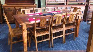 demolição madeira mesa