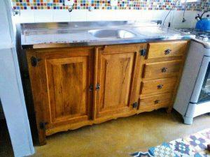 armario madeira maciça de
