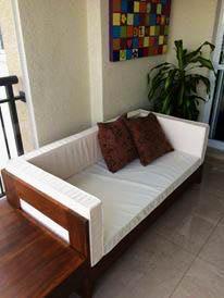 sofa rustico madeira de